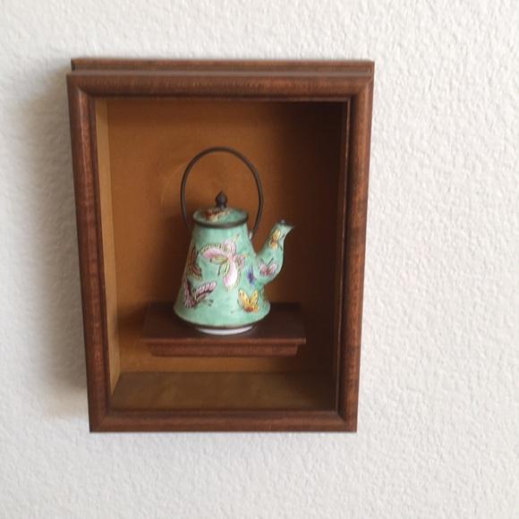 Final sale Vintage small wooden shelves